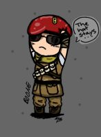 Boone likes his hat....a lot....lot by zetsumeininja