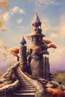 The  Tower Of Chronologist by VarLa-art
