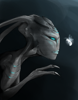 Grey little Alien by Shadnix