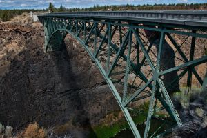 Bridge over Crooked River I by LuKaG2906