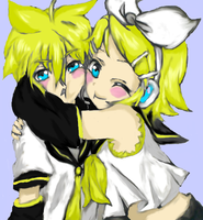 Rin and Len fanart by The89thAlice