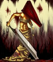Female Pyramid Head. by ShiPaint