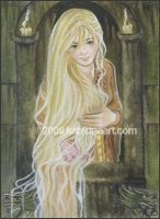 Rapunzel ACEO by Katerina-Art