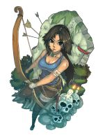 Tomb Raider 2013 contest by purplewurks