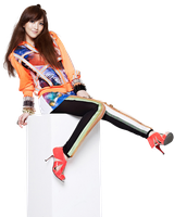 Jiyoung (Kara) PNG Render by classicluv