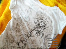 D.Gray Man T-shirt _in-process by KiuBe