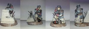Death Korps of Krieg Heavy Quad Launcher Crew by Usafkid94
