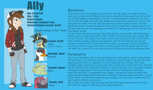 Pokemon Trainer Ally reference sheet by Cocotato
