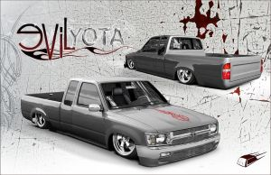Evil Yota by ZeROgraphic