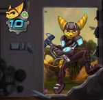 Ratchet and Clank 10th Anniversary by tamalero