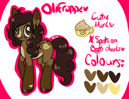 [MLP ref] OliFrappe by OwlBits