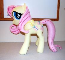 Custom Fluttershy Plushie by Eveningarwen