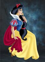+ JASMINE as SNOW WHITE + by Opal-I