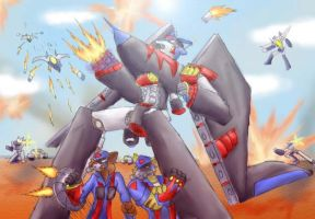 SWat Kats - Skirmish by Lupinrager