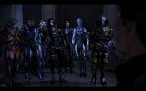 ME3 The Crew by chicksaw2002