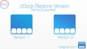 iOS 7 Style cDock Icons (UPDATE!) by Atopsy