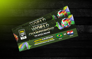 Brazil 2014 WorldCup Soccer Flyers + FB Covers by LouisTwelve-Design