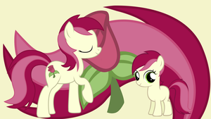 Roseluck wallpaper by neodarkwing