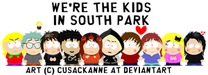 We're the kids in South Park - WIP *GIFT* by cusackanne