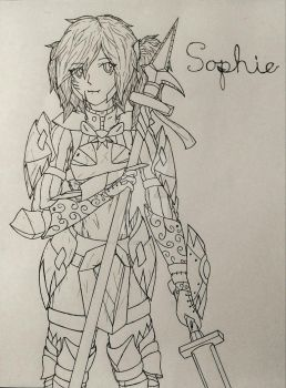 Sophie: Footsoldier of Blizereis by Talon-Reiif