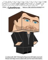 Cubeecraft - Peter Bishop by CyberDrone