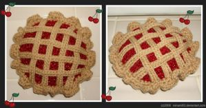 Lattice Top Cherry Pie by minami63