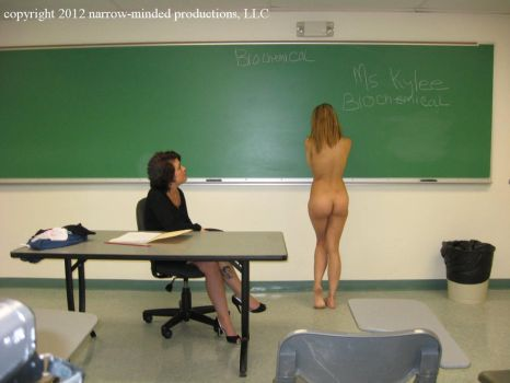 Naked in Class by Helmhood