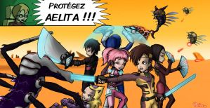 Protect Aelita by Nelbsia