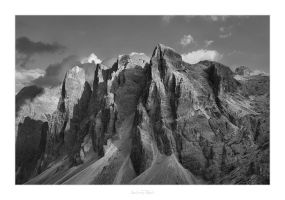 Dolomites Drama by AndreasResch