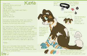Kayla Reference '09 by AluUzumaki