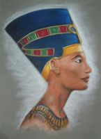 Nefertiti by Altayr