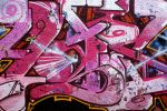 Pink Graffiti by LubelleCreativeSpark