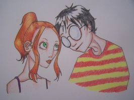 Harry and Ginny by Promandis