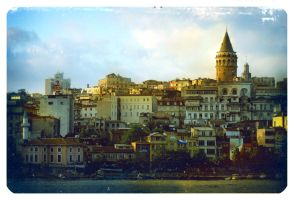 Galata Tower by lkopuz