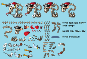 Cortez First Form, ML:BIS Style by RidgeTroopa
