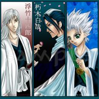 Bleach Bookmarks Set 1 by Ranefea