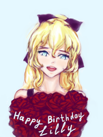 Happy Birthday, Lilly by honitsu