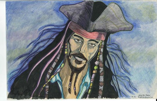 Captain Jack by thegakrules