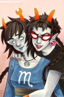 Homestuck - Les8ifins by blk-kitti