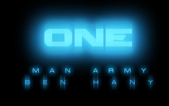 ONE MAN ARMY by m7madlshall