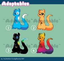 Adoptable Otters - 3 are open by angelbunny1391