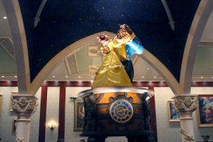 Beauty and the Beast Music Box by BrittanysDesigns