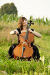 model - cello021 by akio-stock