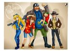 Anime Rescue Rangers by Lord--Opal