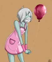 Pink Balloon by psycho23