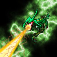 Rayquaza by lisaoak