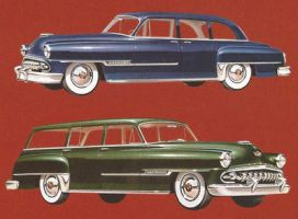 age of chrome and fins : 1954 DeSoto by Peterhoff3