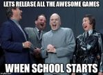 How I feel then video games are released by Mordecaiser123