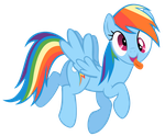 Rainbow Dash by Bl1ghtmare