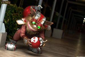 This'll be a blast! - Ziggs by jayz3ro